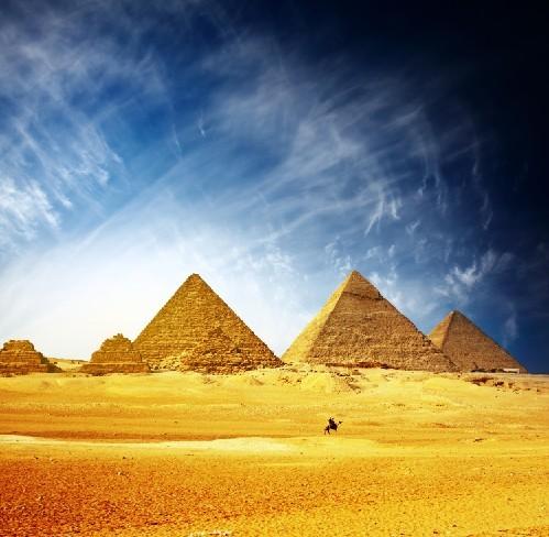 风景掠影-埃及金字塔